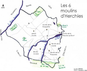 moulins herchies
